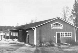 Maatalousmuseo ennen asemuseon rakentamista 1989. Sisäänkäynti oli päädyssä