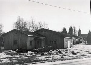 Museo Huhdan suunnasta tullessa vuonna 1989