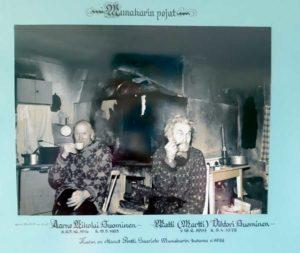 Pentti Saariston veljeksistä 1978 ottama kuva