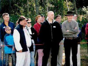 Maajussejakin oli mukana 2007, etualalla Jussi, Harri ja Anssi, Eurajoen oma poika (S.P)